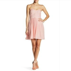 Parker Lily Strapless Bustier Dress